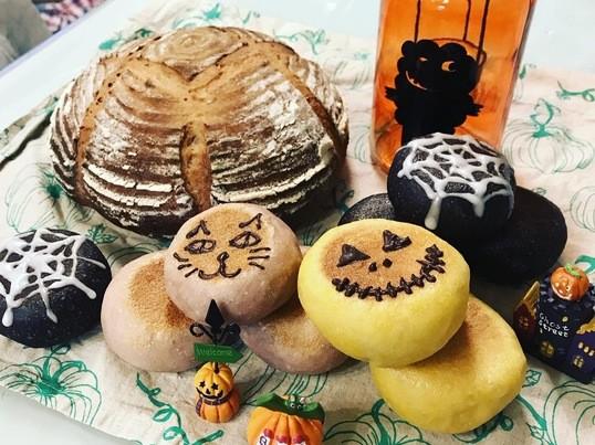 フライパンとポリ袋で簡単パン作り!ハロウィンを楽しもう!の画像