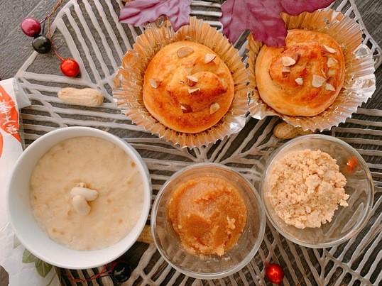 ピーナッツバター作り& ピーナッツ豆腐& ピーナッツパン試食付きの画像