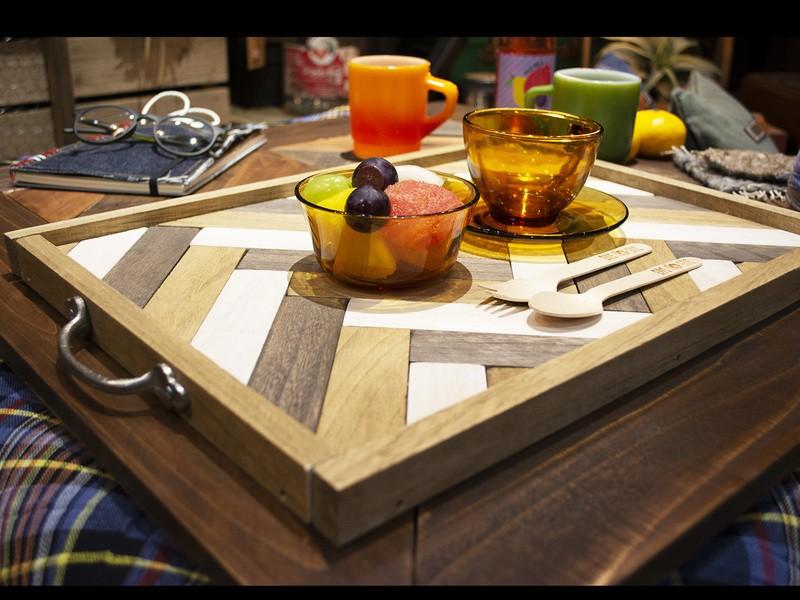 ほっこり冬のおうちカフェ②ひとりでカフェ気分トレイの画像