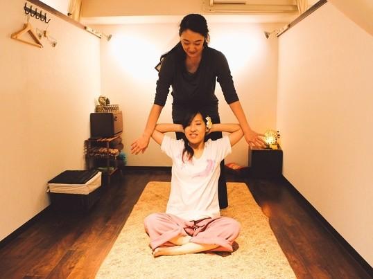 タイ古式マッサージ実践講座【お試し60分】タイ古式専門店の本格技術の画像