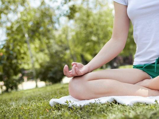 気軽に朝の瞑想習慣の画像