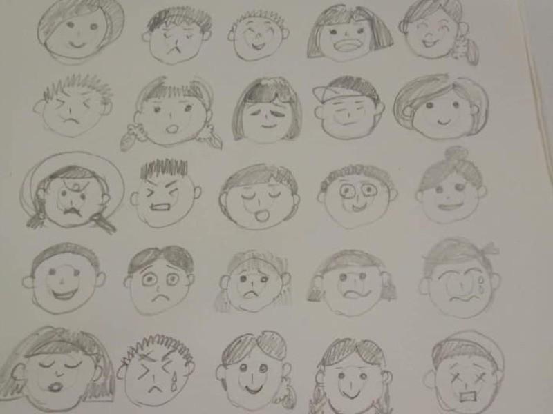 保育士試験対策お絵描きの画像
