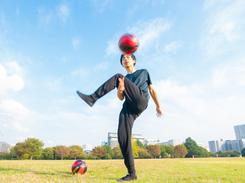 憧れのボール回しをできるようになろう!スポーツ苦手でも問題なし!の画像