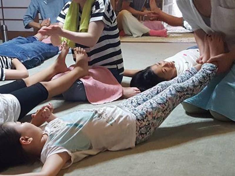 赤ちゃん・子どもの足ツボ講座の画像