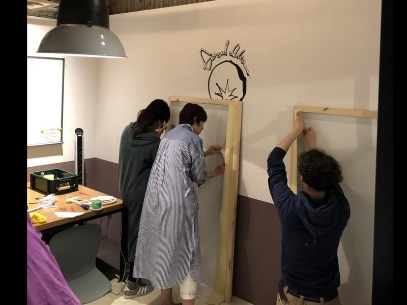 【千葉】『DIYお助け講座 』壁紙ペタペタ編の画像