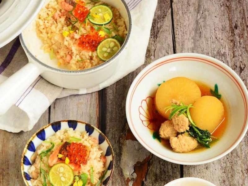 1 DAY LESSON 和食クラス~上品なだしを使った本格和食の画像