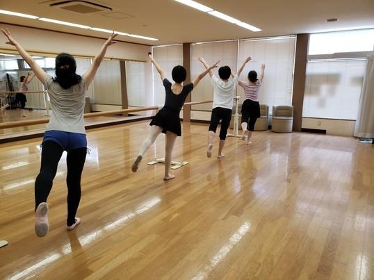 初心者対象クラシックバレエの基本とストレッチの画像