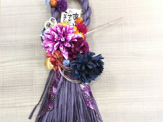 【天神開催】自分だけのしめ縄飾りでお正月を迎えよう♡の画像