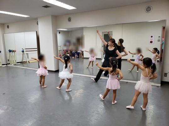 ベビーオープンクラス~幼児対象のバレエクラス~の画像