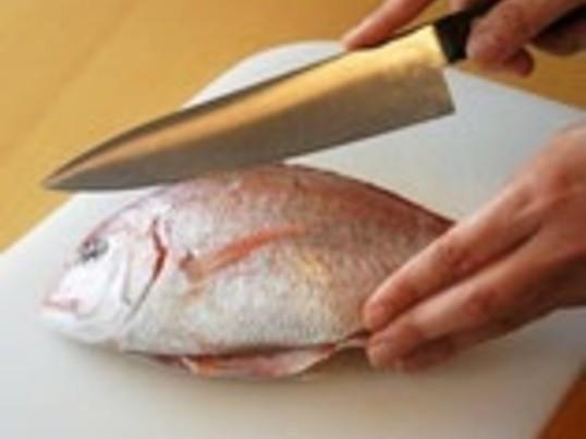 魚をさばく上級編  真鯛を三枚におろし、ポアレをつくろう! の画像