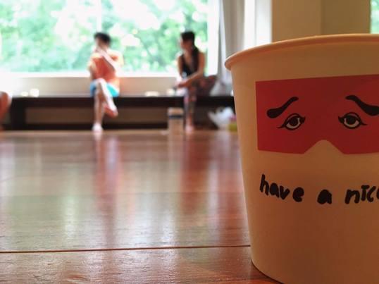 コーヒーとヨガ デトックス編の画像