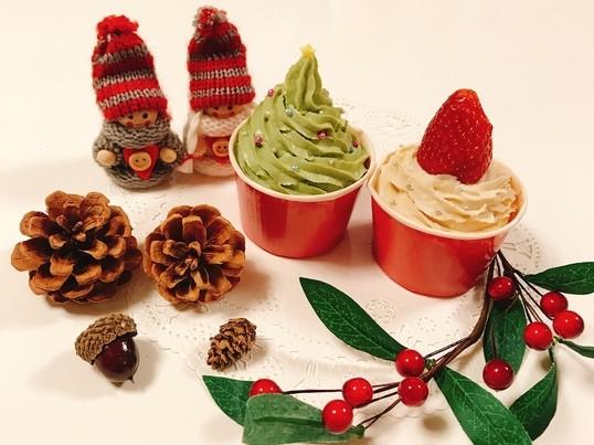 グルテンフリーのクリスマスカップケーキ作り♡の画像