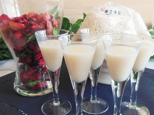 発酵食!体に嬉しい麹パワー!手作り甘酒講座&甘酒料理のランチの画像