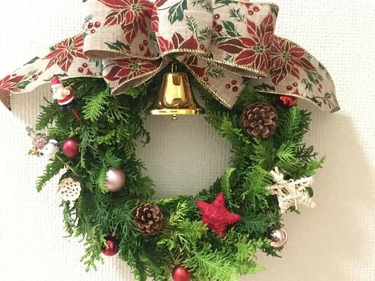 【天神開催】手作り♡クリスマスリースの画像