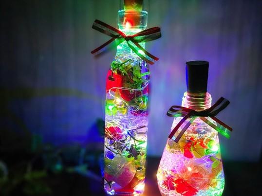 【大塚徒歩3分】キラキラ光る♡ライトハーバリウム〜手ぶらでokの画像