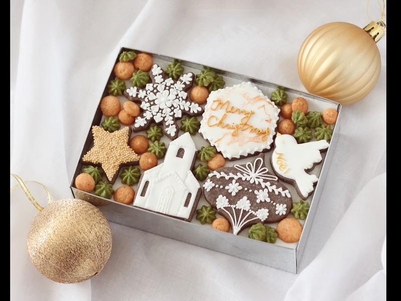 手作りクッキー缶の画像