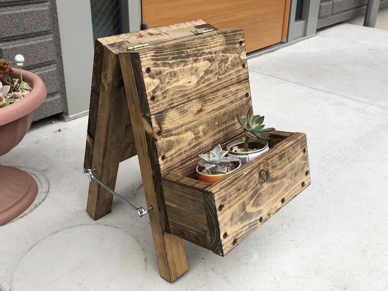 【木工初級向け】看板プランター ~DIYの基本が学べる~の画像