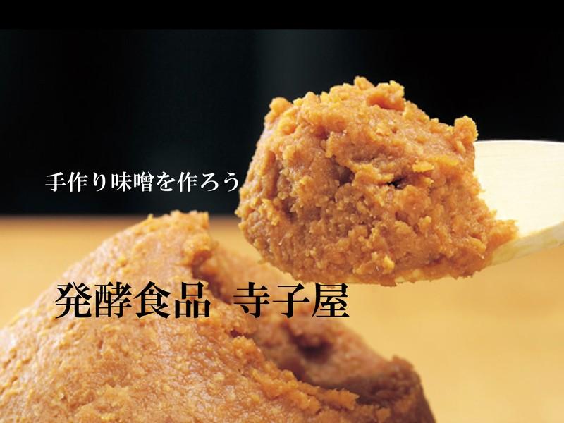 黄大豆麦麹味噌作り体験教室【麦味噌好きな方に(緑麹)】2.0kgの画像