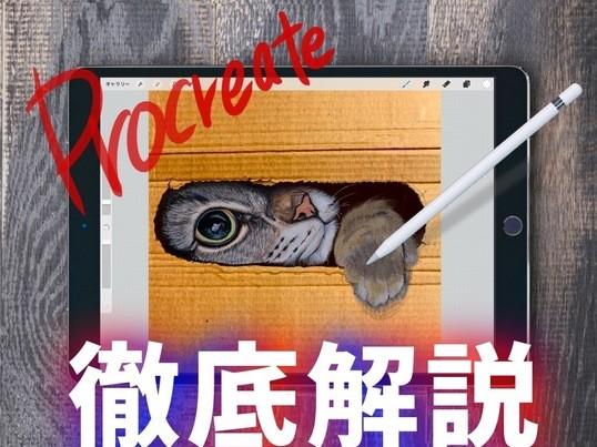 マンツーマン★プロクリエイト超初心者の為のスタートダッシュ講座の画像