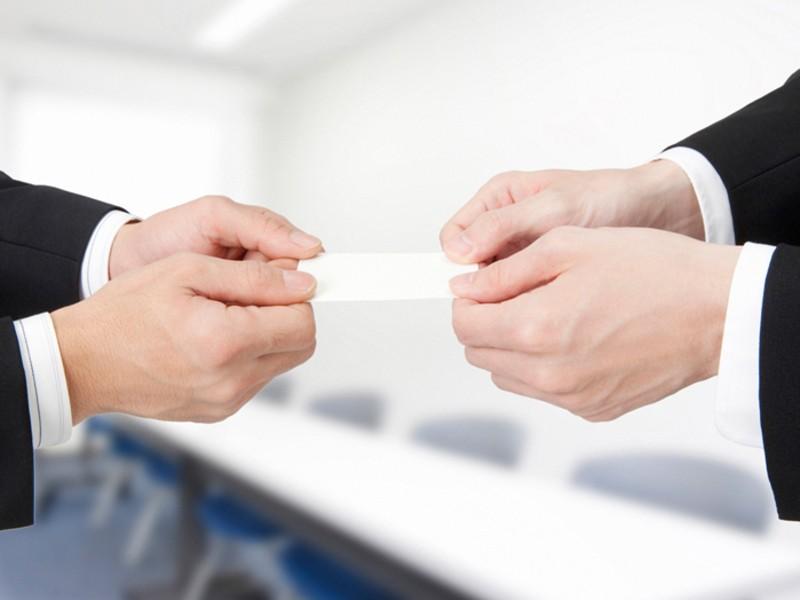 「個人経営の先生」の仕事が取れるマナー&名刺交換を指導【対企業編】の画像