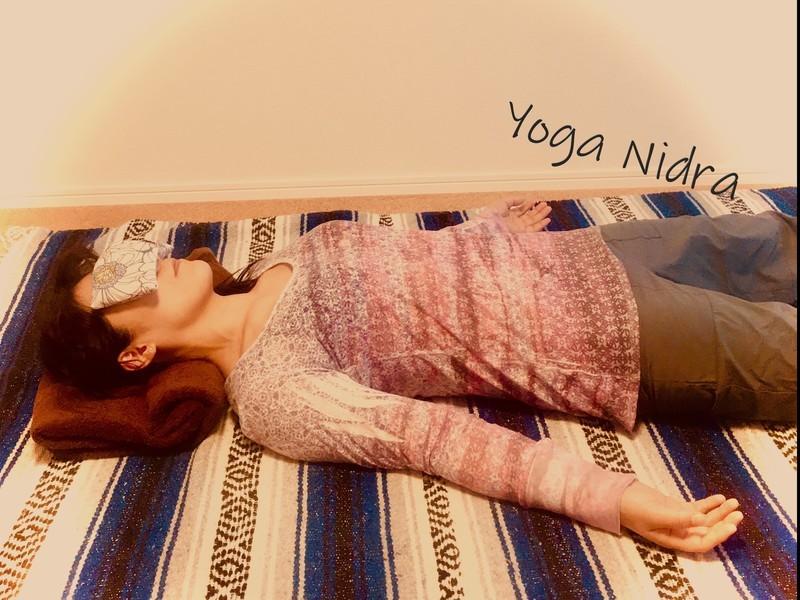 眠りのヨガ☆ヨーガ・ニドラーの画像