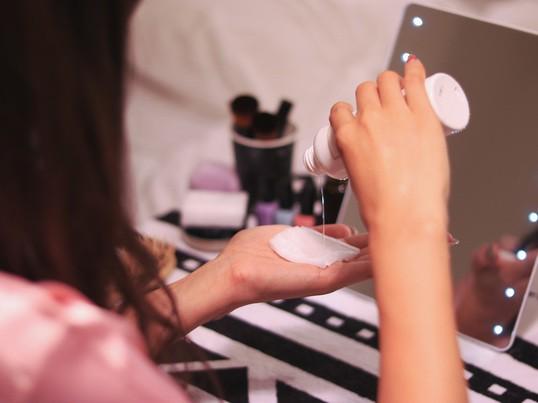 10日であなたのお肌は変わる☆洗顔+スキンケア&コテの使い方講座♪の画像