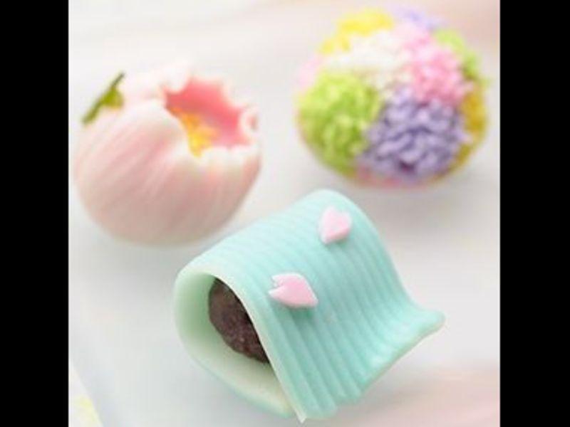 樹脂粘土で和菓子・ケーキ・パフェ・グルメ料理を創るワークショップ!の画像