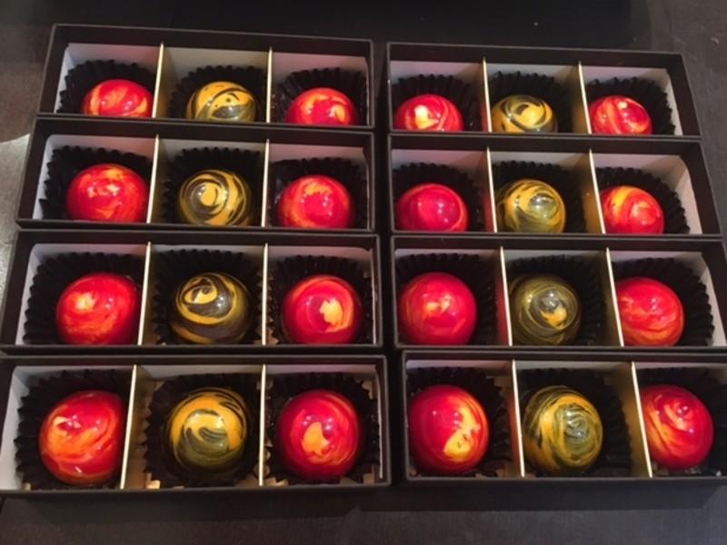 終了*二コラ先生のお菓子教室「オリジナルチョコレート」お土産付🍫の画像