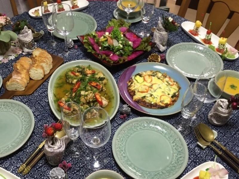 今年のクリスマスは、簡単豪華なフュージョンタイ料理で乾杯しよう!の画像