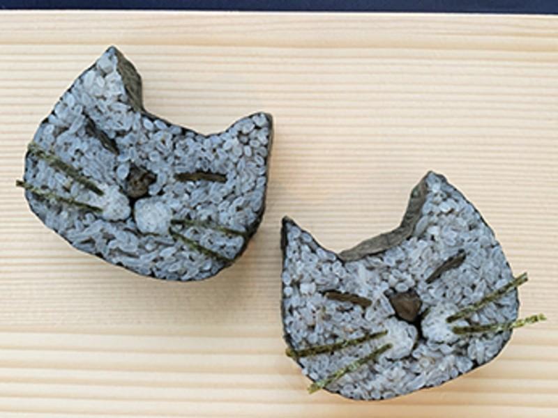 可愛い寝顔猫ちゃんの巻き寿司!色を選んで、オリジナルのレシピ制作もの画像