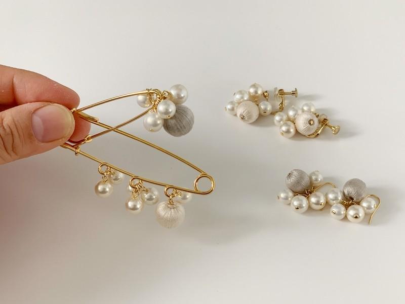選べる!初めてさんのためのイヤリングを作るワークショップ「金具編」の画像