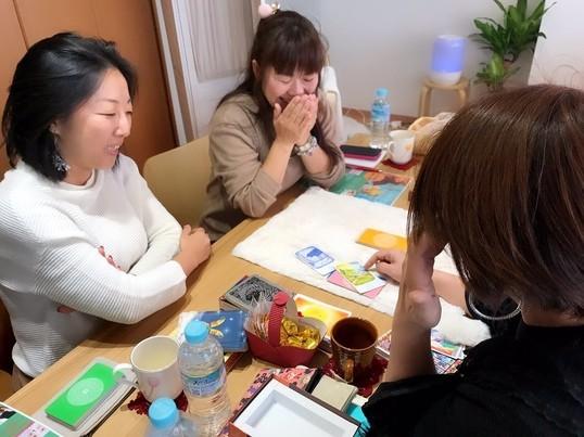 【オンライン開催可】お茶会♥セルフセラピーカードの読み解きレッスンの画像