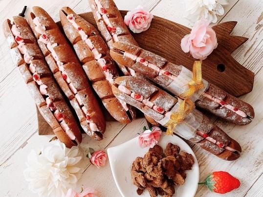 【バレンタイン】「ベリーショコラブレッド&スパイシーチョコナッツ」の画像