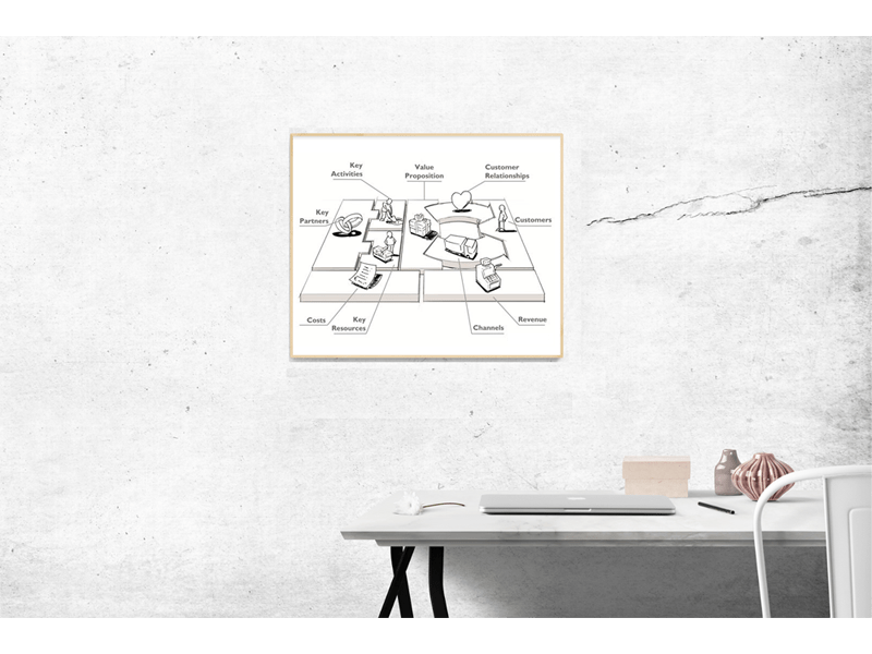 図解ビジネスモデル入門:1枚事業企画書のつくり方・事業構想の描き方の画像