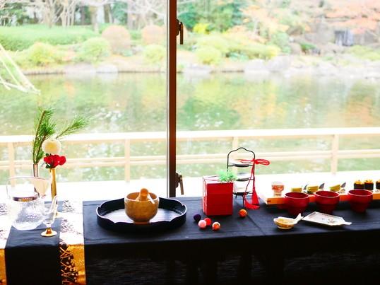 和を楽しむ!茶室でお抹茶体験&組子作り、テーブルコーディネートの画像