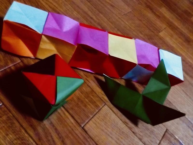 〜折り紙マジック 講座〜の画像