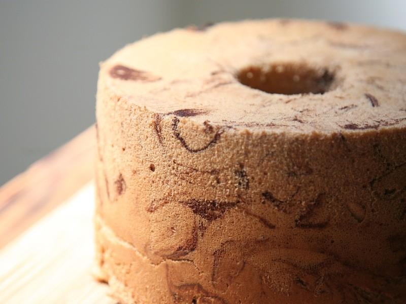 しっとりふわふわシフォンケーキを作りましょうの画像