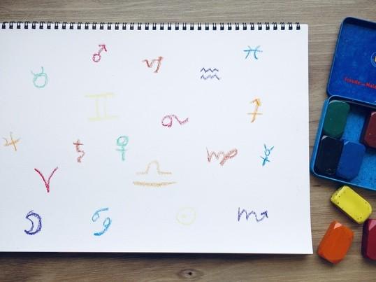 占星術とお絵描きで、自分なりの幸せを育む気づきのワークショップ*の画像