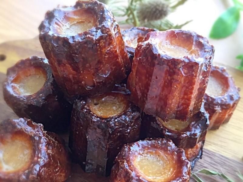 フランスの伝統の美味しさ!ミニカヌレの画像