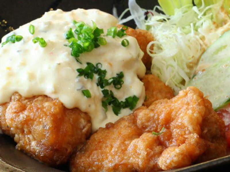 チキン南蛮✖ポテサラ✖出汁から作る季節の味噌汁!<お土産>塩麹の画像