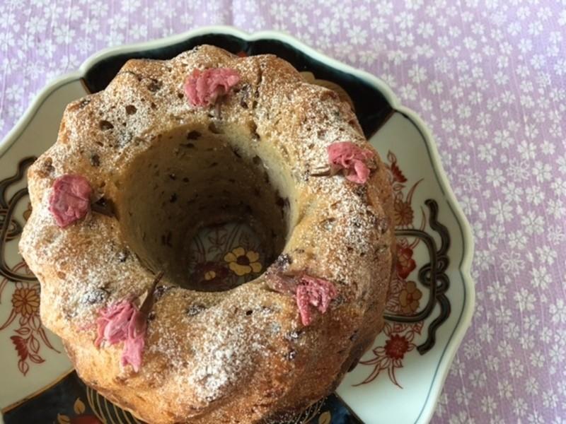ホシノ酵母で作る桜クグロフ&日本茶の淹れ方 煎茶と玉露の飲み比べの画像
