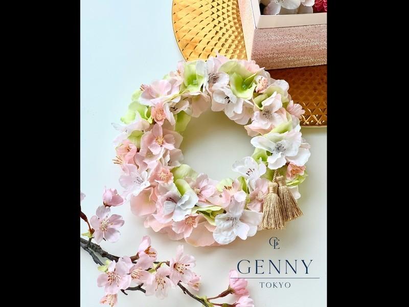 """~一足先に春を感じよう~ """"さくらリース  or  桜ボックスの画像"""