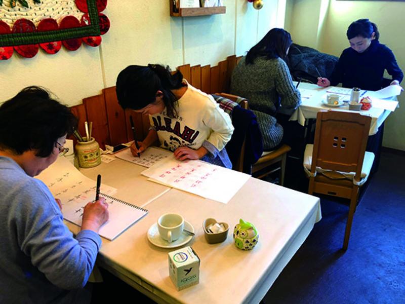 【手ぶらでOK】筆ペンで自分の名前を美しく書こう!の画像