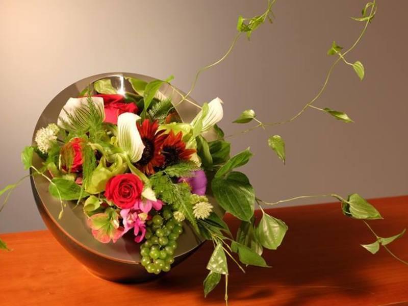 キリっと日本の生花をいけてみませんか?の画像