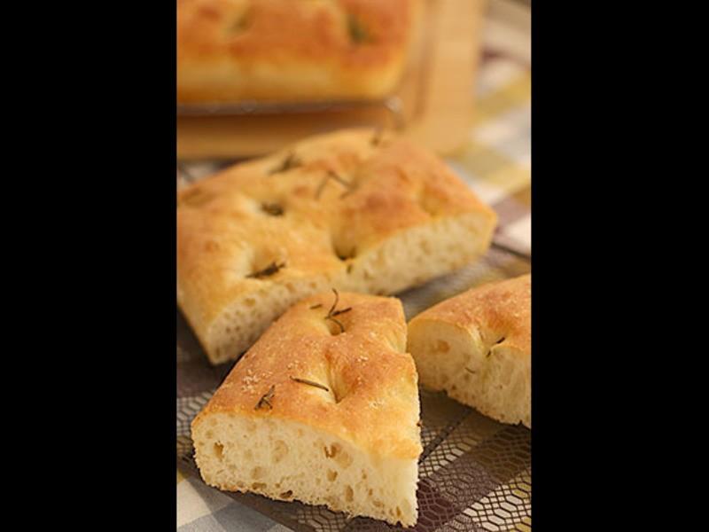 【千葉】こねないパン教室< 玄米甘酒のフォカッチャ>の画像