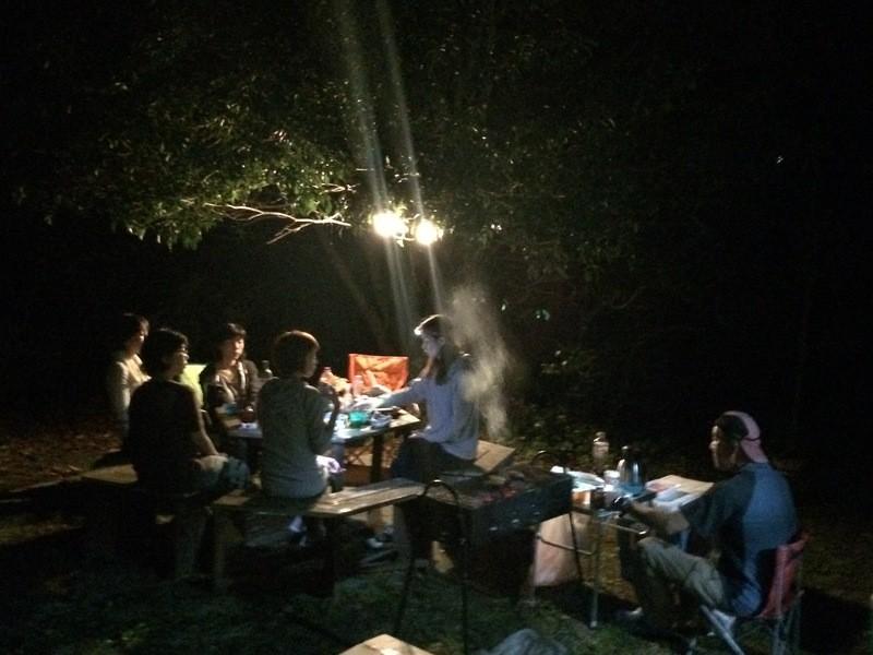 【オンライン・対面アウトドア】美しきキャンプファイヤーの画像