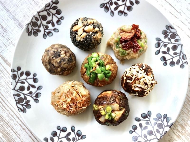 ⑥薬膳味噌玉作りと発酵麹調味料を使った食事の画像