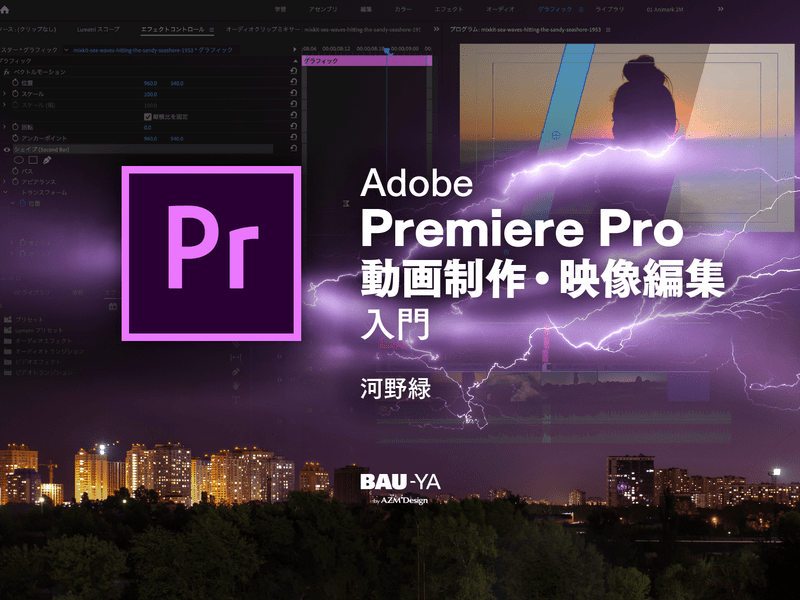 Adobe Premiere Pro 動画制作・映像編集入門の画像
