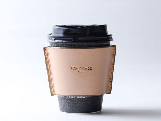 レザーで一生使えるコーヒースリーブを作る!【感染症予防実施】の画像