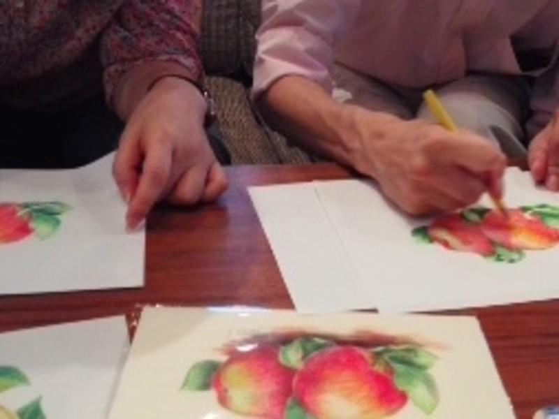 リアルに描く色鉛筆画@武蔵小金井の画像